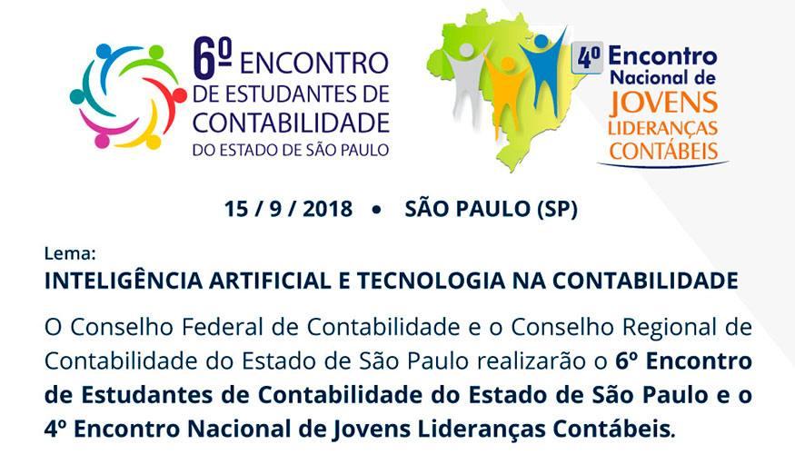 6º Encontro de estudantes de Contabilidade do estado de São Paulo