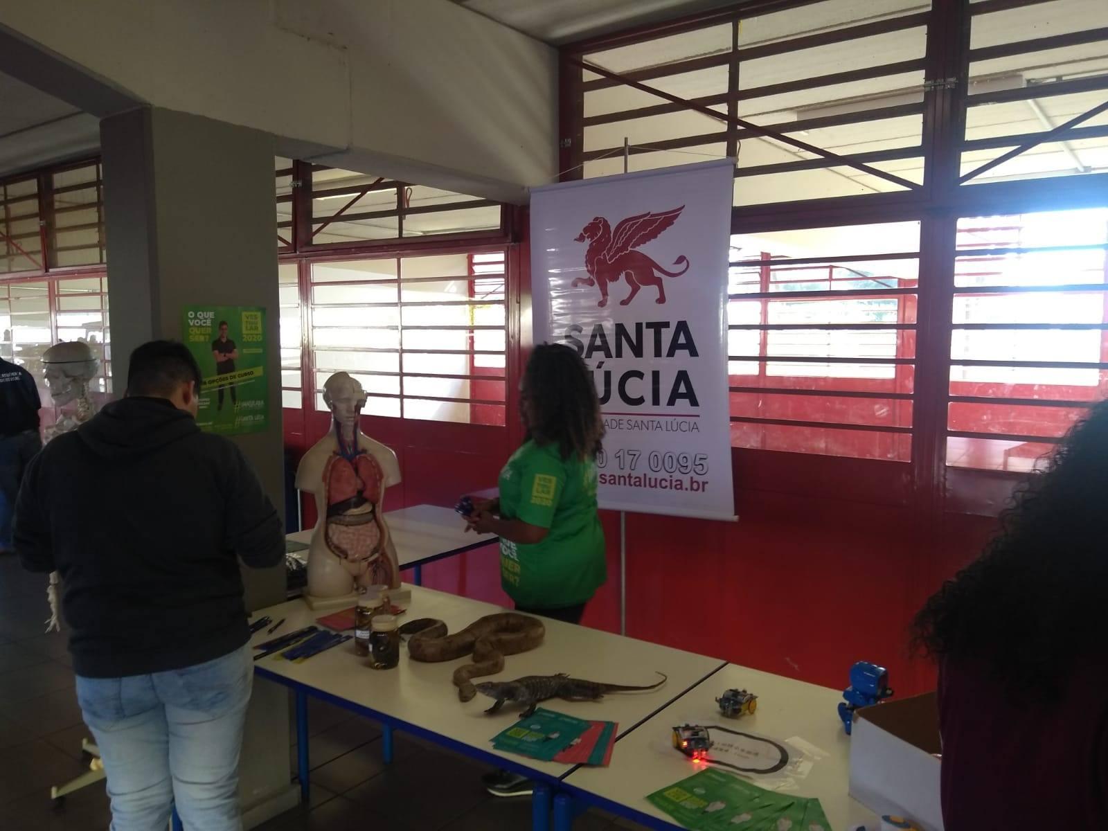 Fimi e Santa Lúcia participam de feira em Conchal